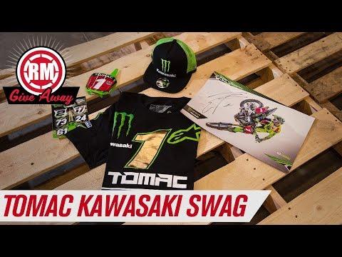 2019 January Giveaway | Eli Tomac #3 Kawasaki Swag Pack