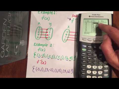 Defining Inverse Functions with Calculator