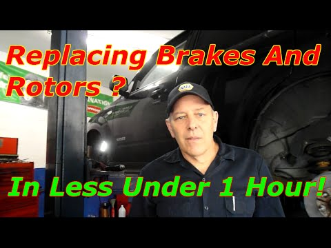 Replace Front Brakes And Rotor On A Mercury Mariner/Ford Escape