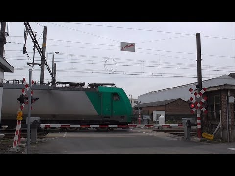 Passage a Niveau Erquelinnes/ Spoorwegovergang/ Railroad-/ Level Crossing/ Bahnübergang