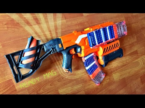 [TUTORIAL] How to make a Nerf READY MAG / Magazine Modification