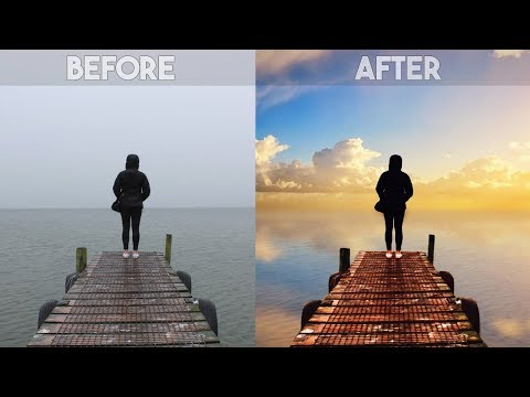 Picsart Editing Tutorial | How to Change Overcast Sky Photos into Awesome in PicsArt