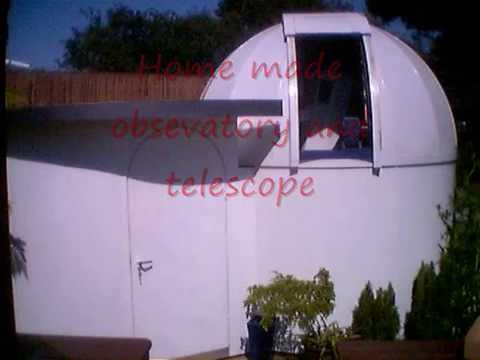 Homemade D.I.Y observatory & telescope