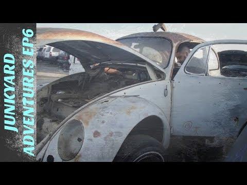 Junkyard Adventures - Ep6 | Found A 65 Bug & 74 Porsche!!!