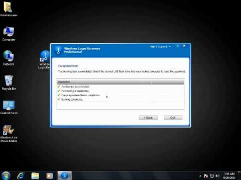 How to Regain Access to Your Computer When Forgot Windows vista Password?