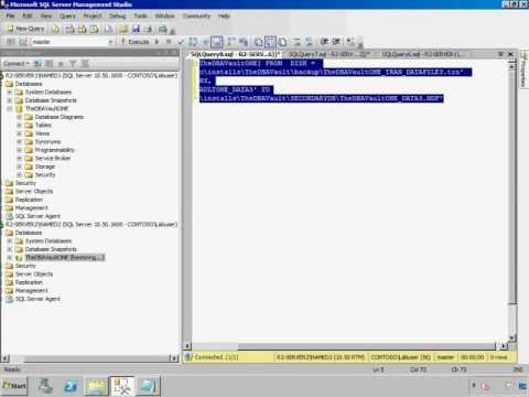 MS SQL Server 2008 Add secondary file to a mirrored database