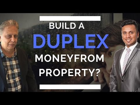 How to Make Money from Property by Building a Duplex in Your Property