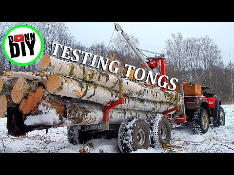 Homemade Log Grapple Put To Test!