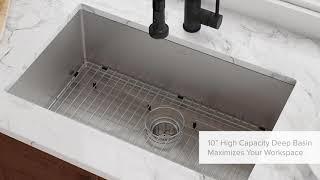 Kraus Standart PRO Undermount Kitchen Sink Series