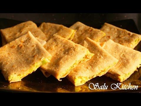 How To Make Easy  Wheat Egg Paratha / Parotta