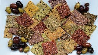DIY Whole Grain Crackers: The Art of Combining Flours