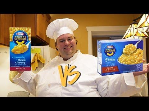BoxMac 4: Kraft Three Cheese vs. Kraft Four Cheese Deluxe