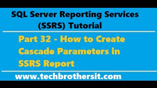 SSRS Tutorial 39 - Show Null value for Multi Value Parameter