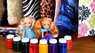 Hardware Store ! Elsa and Anna toddlers - shopping - Barbie