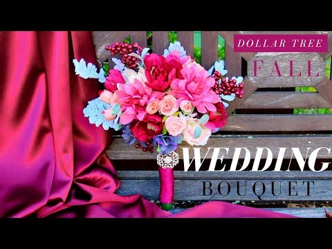 DIY WEDDING BOUQUET | DOLLAR TREE WEDDING BOUQUET