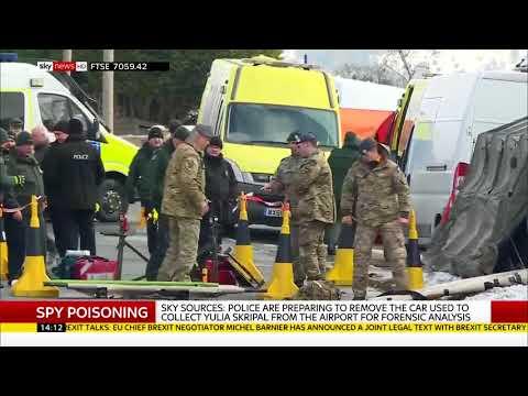 Car removed in Salisbury spy nerve agent attack - Rebecca Williams