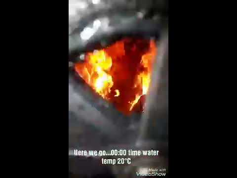 Free Heat Forever! | Unlimited Fuel | Paper briquettes | Burning test | Free home heating