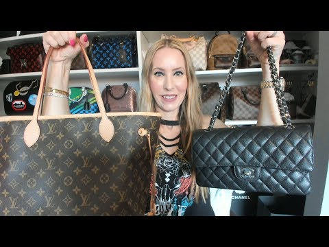 My Classic Icon Handbags ft. Chanel and Louis Vuitton