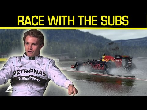 F1 2016 | Race With The Subs #18 LIVE
