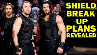 5 WWE Rumored Plans for The Shield Break Up