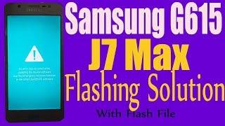 How to Samsung Galaxy J7 Max SM-G615F Firmware Update (Fix