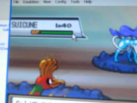 How to catch suicune in pokemon soul silver