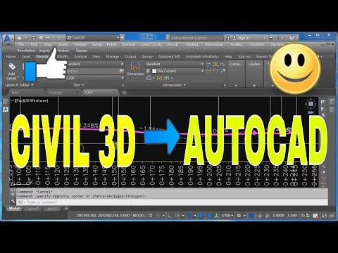 How to Export Civil 3D Drawing to AutoCAD DWG Easily Convert Drawings Classes Tutorials insurance