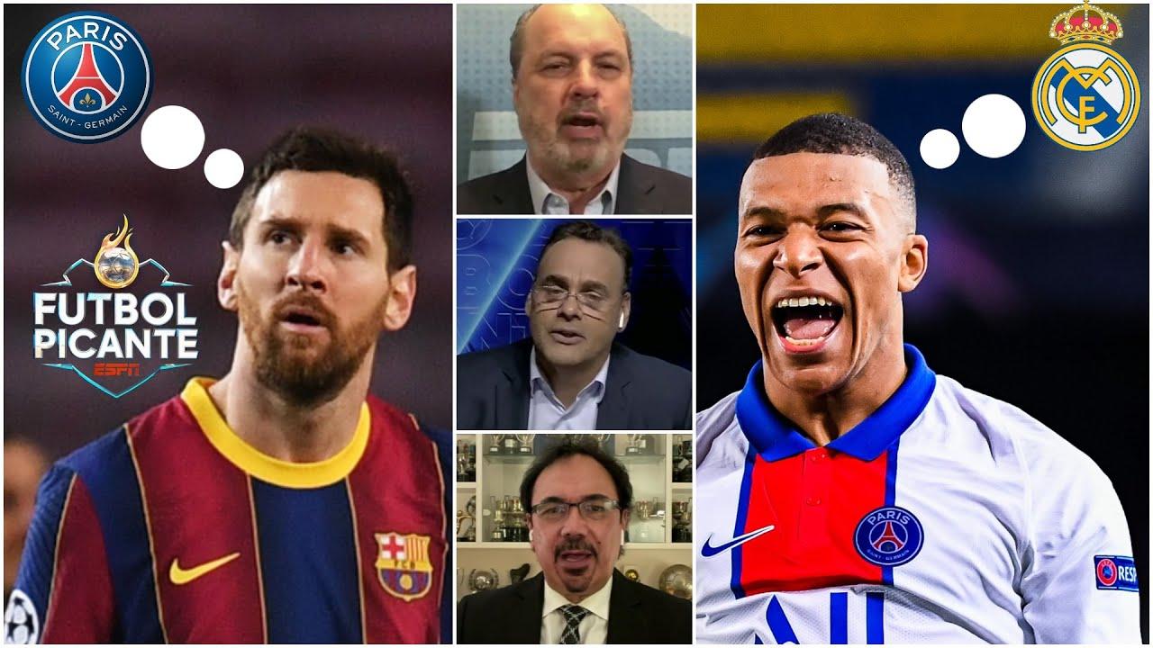 HUMILLACIÓN en UCL: ¿Fichó Messi su salida del Barcelona? ¿Mbappé al Real Madrid? | Futbol Picante