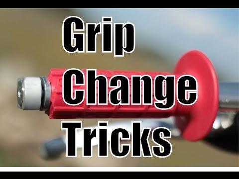 Handlebar Grip Change Tricks | Fix Your Dirt Bike.com