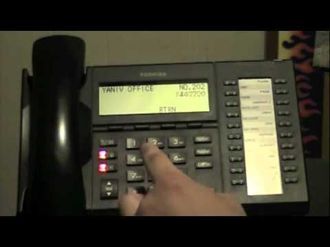 Toshiba Voicemail Transfer