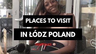 Black girl touring Lodz city-ŁÓDŹ POLAND VLOG