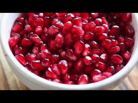 How to Easily Remove Seeds from a Pomegranate - Pip and Ebby