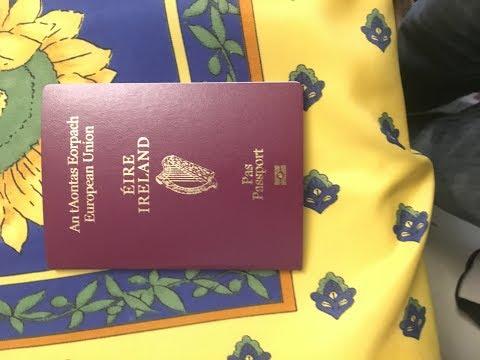Storytime: Getting my Irish Citizenship and Passport!