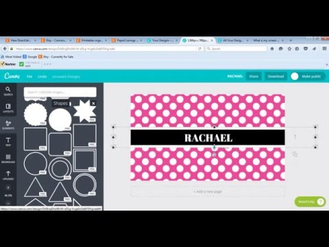 How to make a personalised computer desktop wallpaper phone ipad tablet lock screen