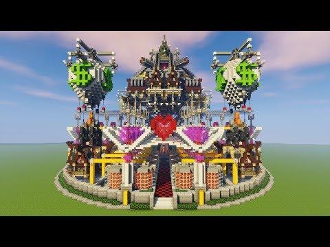 Minecraft Speed Build: The Steampunk Robot Factory [Download] Server Spawn/Hub