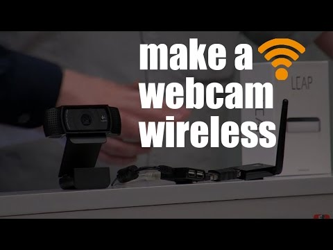 How to Make a Logitech Webcam Wireless