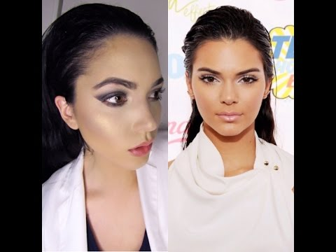 Kendall Jenner Inspired Slicked/Wet Hair Look Tutorial|Easy Hair Do