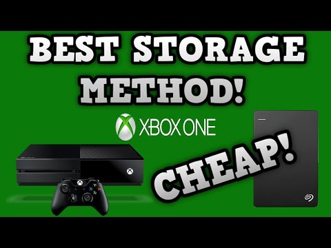 Increase Storage On Your Xbox One/Ps4!! - CHEAP! - (Seagate Backup Plus Slim)