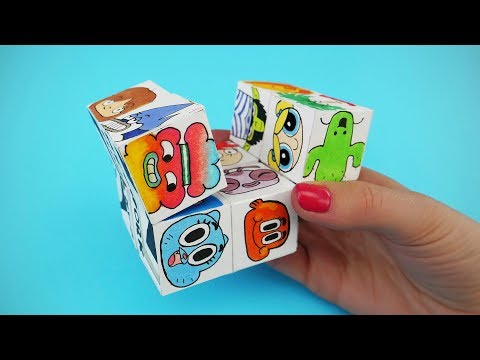 How To Make Paper Magic Cube Transformer | Cartoon Network DIY Infinity Cube