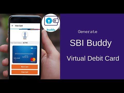 How To Generate SBI Buddy Debit Card