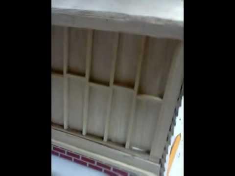 Model balsa wood house update