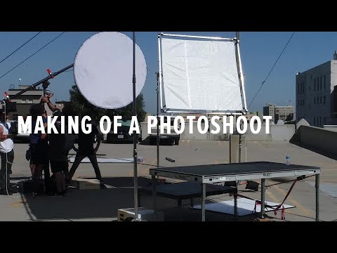 Behind-the-Scenes: Making of a Photoshoot