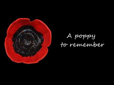 Poppy Craft for Memorial Day