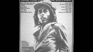 "Bob Marley "" Crazy Baldhead "" Live Exeter 76 HQ !"