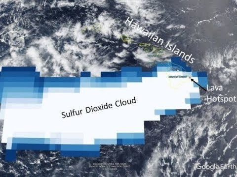 Should We Believe Experts when They Say Sulfur Dioxide from Kilauea is Not a Global Threat (618)