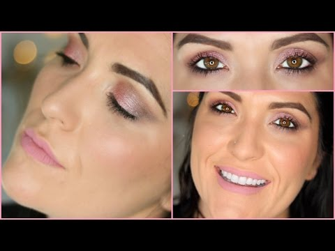 Peachy Pink Makeup Tutorial | Valentines Day 2017