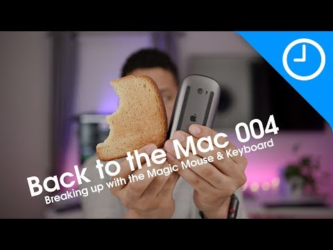 Back to the Mac 004: Breaking up w/ the Magic Mouse and Keyboard [9to5Mac]