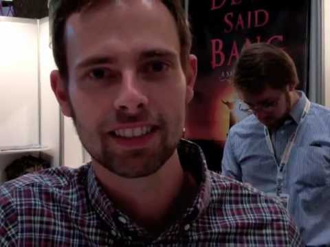Ransom Riggs on Talking Pictures at New York Comic-Con 2012