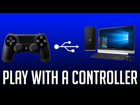 How To Connect A PS4 Controller To Your PC (Easiest Way)