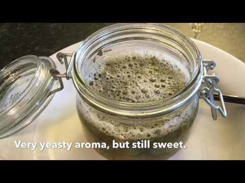 Basil Honey Yeast Water